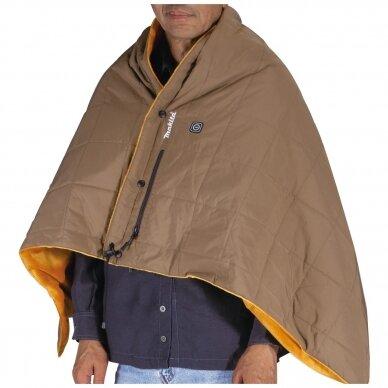 Makita šildymo antklodė DCB200B (Be akumuliatorių ir kroviklio) 3