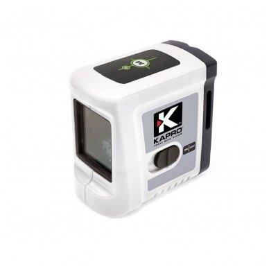 Mini Lazerinis gulsčiukas 862G_SET Su trikoju stovu 1,2m. Žalias spindulys. 2