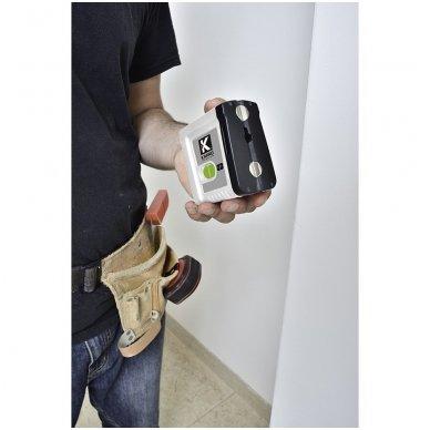 Mini Lazerinis gulsčiukas 862G_SET Su trikoju stovu 1,2m. Žalias spindulys. 3
