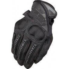Pirštinės Mechanix M-Pact® 3 Covert juodos 9/M dydis. Velcro, TrekDry®, dirbtinė oda, delno, krumplių, Armortex®, pirštų apsauga, D30® apsauga nuo vibracijos