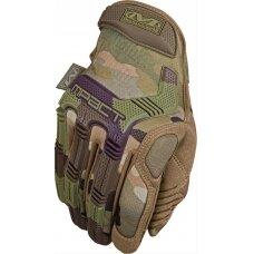 Pirštinės Mechanix M-Pact® 78 Multicam® 10/L dydis. Velcro, TrekDry®, dirbtinė oda, delno, krumplių, Armortex®, pirštų apsauga, D30® apsauga nuo vibracijos