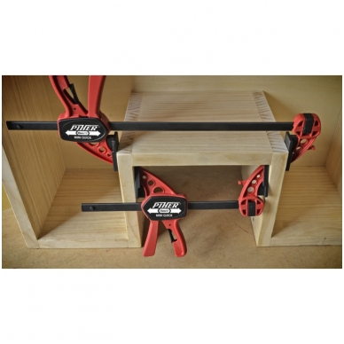 PIHER Greitos fiksacijos spaustuvas Extra Quick 8x45cm, max 150kg   2