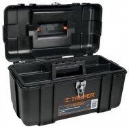 Plastikinė įrankių dėžė 432x241x229mm. Truper 19656
