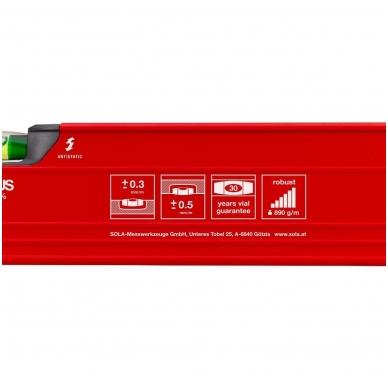 Sola BIG RED 3 200 aliuminis gulsčiukas (200cm) 2