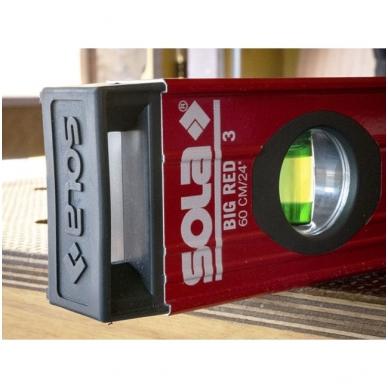 Sola BIG RED 3 240 aliuminis gulsčiukas (240cm) 4