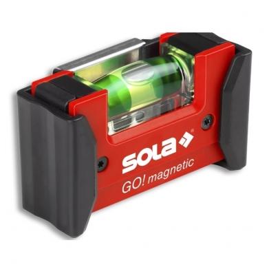 SOLA GO! CLIP Magnetic gulsčiukas su įdėklu