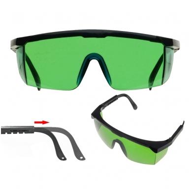 SOLA LB GREEN akiniai žaliam lazerio spinduliui geriau matyti 2