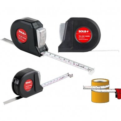 SOLA Talmeter TAL 3m ruletė 6