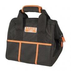 Uždaras tekstilinis krepšys su rankenomis 330mm