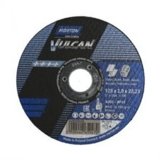 Vulcan abrazyvinis pjovimo diskas 125*2*22