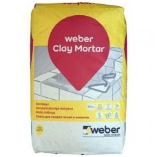 weber Clay Mortar Molio mišinys  25 kg popierinis maišas