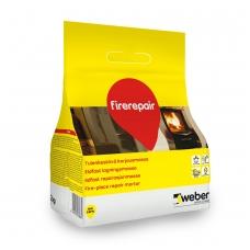 weber FireRepair Ugniai atsparus remontinis mišinys pakurų remontui  2 k plastikinis maišas