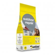 weber OutdoorRepair Cementinis  remontinis mišinys  5 kg plastiko maišas
