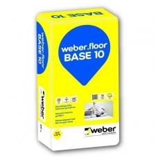 weber.floor BASE 10 Universalus smulkiagrūdis betono mišinys grindims 25 kg popierinis maišas