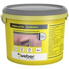 weber.prim CONTACT Kontaktinis gruntas 5 kg  plastikinis kibiras