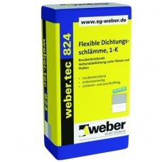 weber.tec 824  Elastinga cementinė hidroizoliacija  20 kg popieriniai maišai