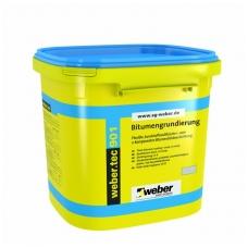 weber.tec 901 Bituminė emulsija pamatų hidroizoliavimui, gruntavimui  10 litrų plastikinės talpyklos