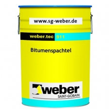 weber.tec 911 Bituminis remontinis hidroizoliacinis mišinys  6 kg metalinė talpykla