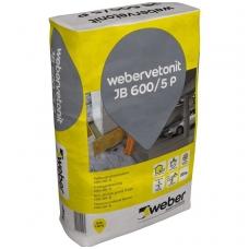 weber.vetonit JB 600/5 P Nesitraukiantis betonas C50/60-5  1000kg didmaišis