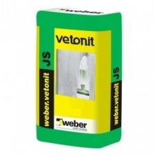 weber.vetonit JS Polimerinis gipskartonio glaistas 15 kg plastikinė pakuotė