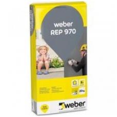 weber.vetonit REP 970 Smulkus apsauginis betono glaistas 0,6 mm 20 kg maišas