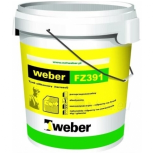 weber FZ391 Silikoniniai fasadiniai dažai 25kg