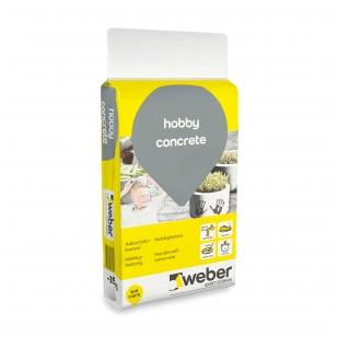 weber HobbyConcrete Paprasto naudojimo betonas 15 kg plastiko maišas