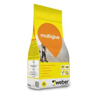 weber MultiGlue Balti, padidinto elastingumo plytelių klijai 5 kg