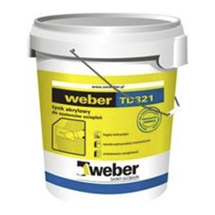 weber TD321 Akrilinis dekoratyvinis tinkas 30kg