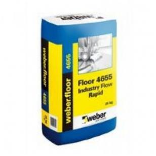 weber.floor 4655 Industry Flow Rapid Pramoninis savaime išsilyginantis cementinis mišinys  20 kg popierinis maišas