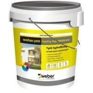 weber.pas topdry AquaBalance Hidrofilinis dekoratyvinis tinkas 30kg
