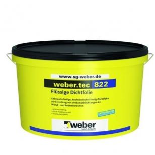 weber.tec 822 Superflex 1 Polimerinė hidroizoliacija 8 kg talpa