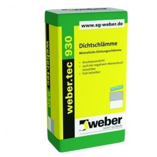 weber.tec 930 Cementinė hidroizoliacija  25 kg popieriniai maišai