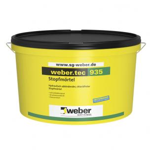 weber.tec 935  Hidrauliškai kietėjantis užtaisymo skiedinys 10 kg plastikinis kibiras