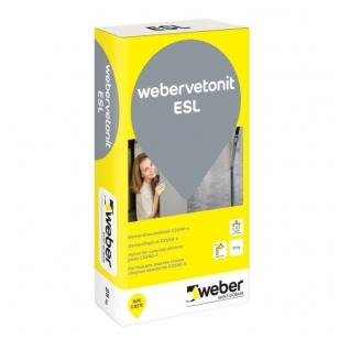 weber.vetonit ESL Betonas vertikalioms ir horizontalioms siūlėms C33/40-4 25kg