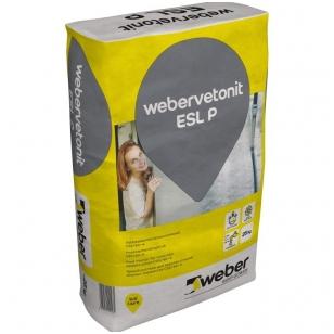 weber.vetonit ESL P Betonas vertikalioms ir horizontalioms siūlėms C33/40-4. 1000kg didmaišis