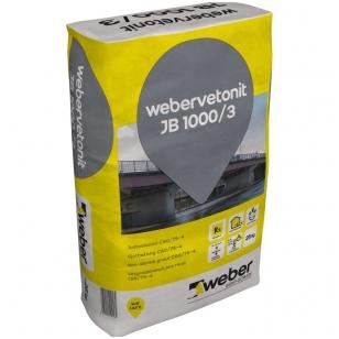 weber.vetonit JB 1000/3 Nesitraukiantis betonas C60/75-4  1000kg didmaišis