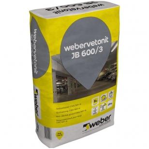 weber.vetonit JB 600/3 Nesitraukiantis betonas C50/60-4  1000kg didmaišis