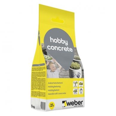 weber HobbyConcrete Paprasto naudojimo betonas 5 kg plastiko maišas