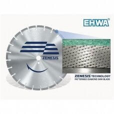 Zenesis deimantinio pjovimo diskas asfaltui Ø350x20/25,4