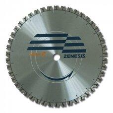 Zenesis deimantinio pjovimo diskas betonui Ø400x25,4